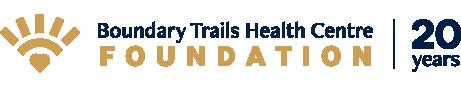 Boundary Trails Health Centre Foundation 20 years logo