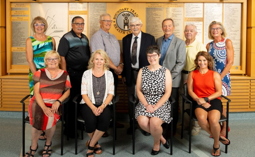 Boundary Trails Hospital Centre Foundation board members